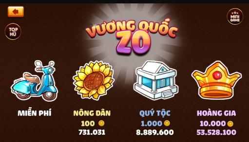 Hình ảnh Screenshot_8 1 in ZoVip Club game bài đổi thưởng mini slot online mới trình diện vào 5/2018