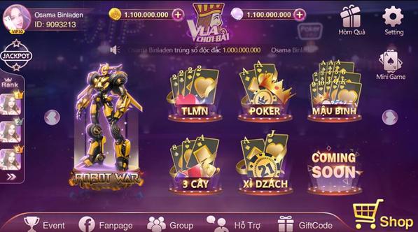 Hình ảnh Screenshot_9 in Vua chơi bài game bài đổi thưởng hot nhất hiện nay