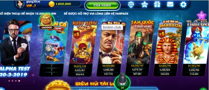 Hình ảnh Screenshot_11 3 in Tải binbin Club cổng game đổi thưởng miễn phí 2019
