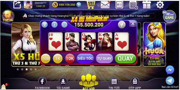 Hình ảnh Screenshot_42 in Cách chơi Mini Poker ở cổng Vinvip Club
