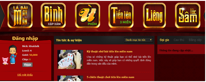 Hình ảnh Screenshot_73 in Chơi game đổi thưởng nhận chip miễn phí - sảnh bài