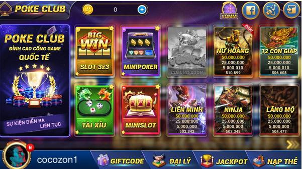 Hình ảnh Screenshot_2 2 in Tải Poke Club game slot đổi thưởng mới nhất 2019