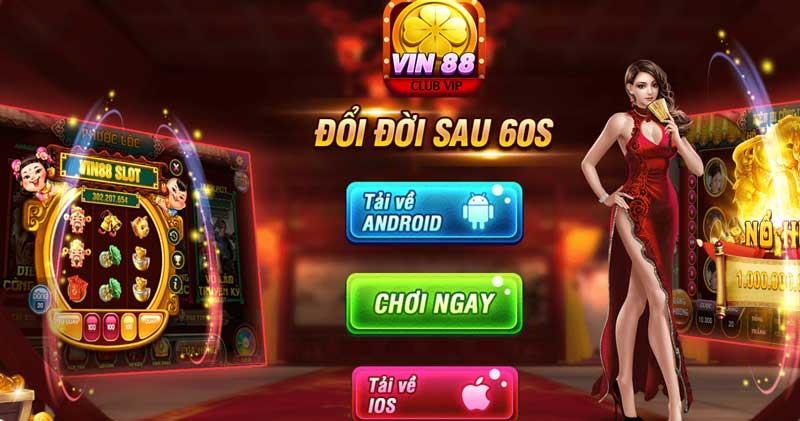 Vin88.Club – Tải game nhận ngay giftcode tân thủ icon