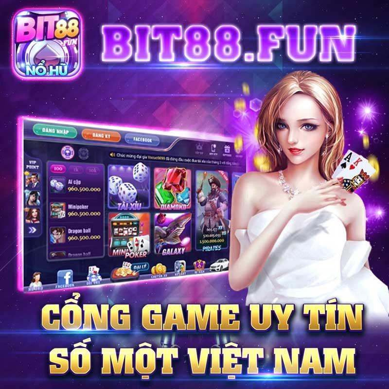 Tải Bit88.Fun – Cổng game nổ hũ mới nhất cho Android và IOS icon