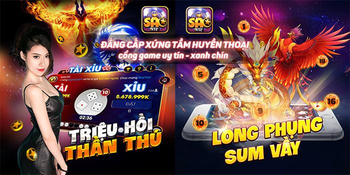 Tải Saovip.Fun- cổng game đổi thưởng mới 2019 icon