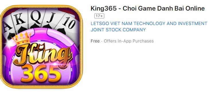Hình ảnh king365 1 in Tải King356 đánh bài đổi thưởng thật