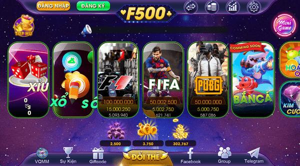 Tải F500 game bài đổi thưởng quốc tế đỉnh cao icon