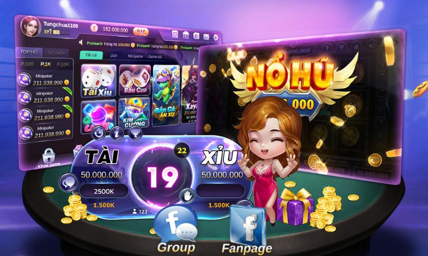 Tải toclub chơi game miễn phí thắng to liên tục icon