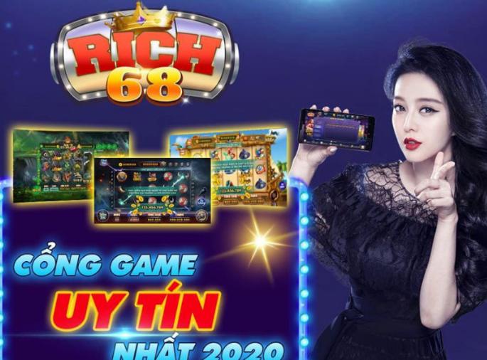 Tải Rich 68 Win game slot đẳng cấp xanh chính icon
