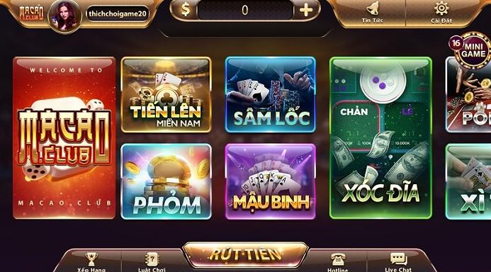 Hình ảnh Screenshot_4 5 in Tải Macau Club game đổi thưởng xịn sò nhất