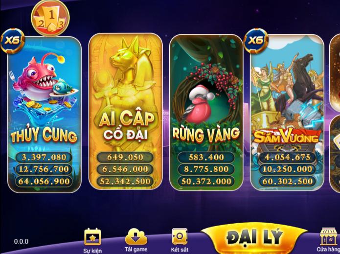 Tải game go79 chơi game đổi thưởng đa dạng icon