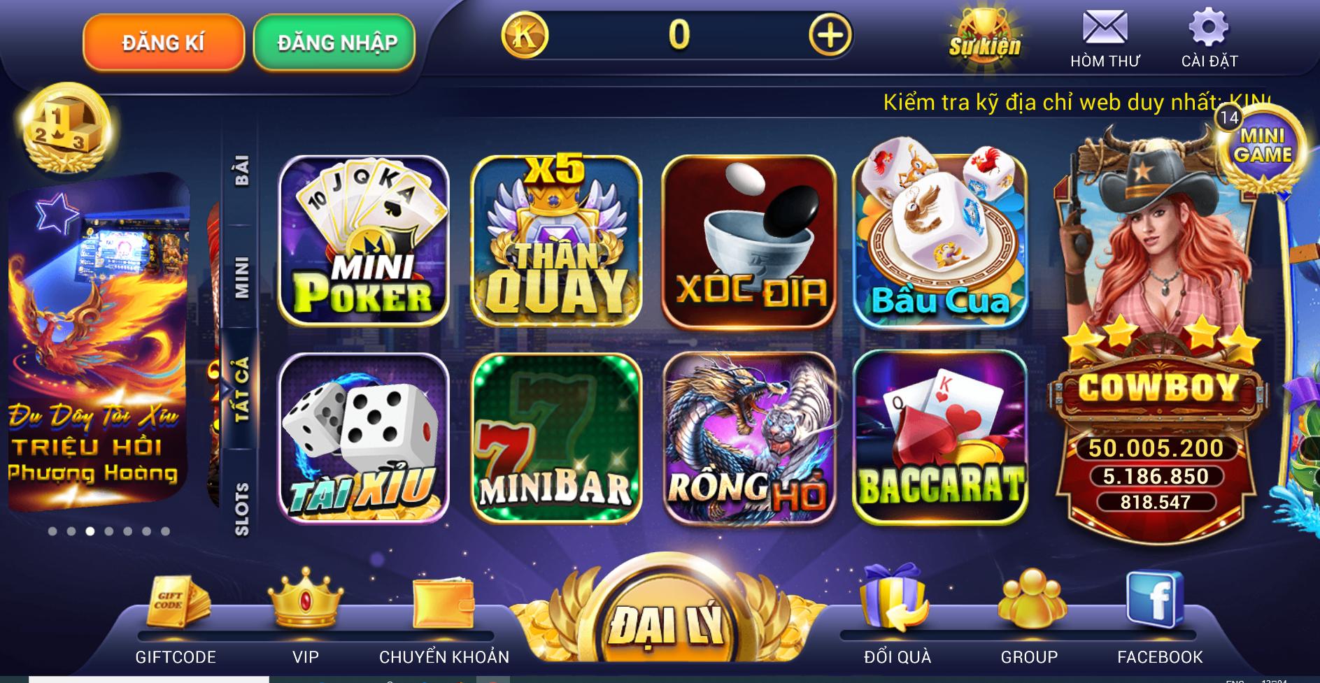 Hình ảnh king 1 in King Việt Club – Ông vua game bài đổi thưởng
