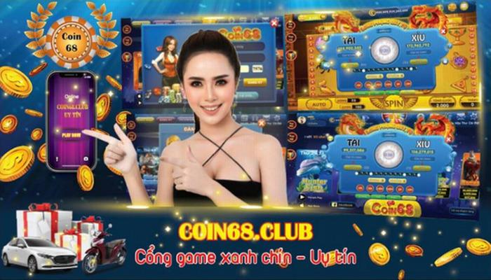 Game bài Coin68 Club – Đẳng cấp slot đổi thưởng icon