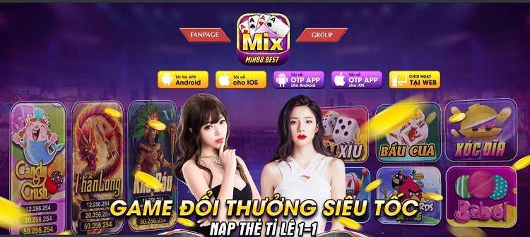 Hình ảnh game mix88 club in Tải Mix88 club – Đổi thưởng ios apk android PC phiên bản mới nhất