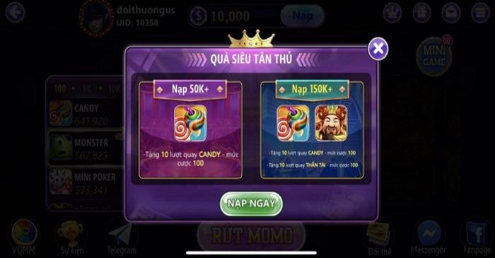 Hình ảnh game bai keo club 1 in Tải game Kẹo Club – Đổi thưởng trong tầm tay