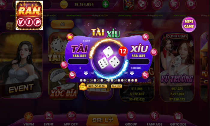 Hình ảnh game bai ranvip in Tải game RanVip – Cổng slot đổi thưởng mới ra mắt