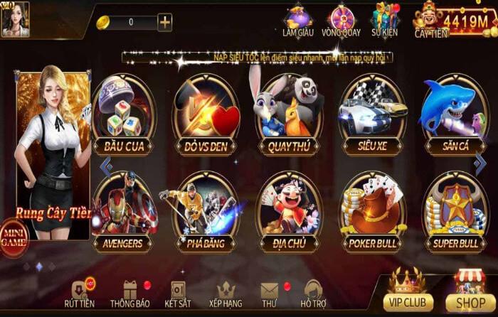 Hình ảnh game twin68 club in Twin68 Club game đổi thưởng online siêu hot mới nhất 2021