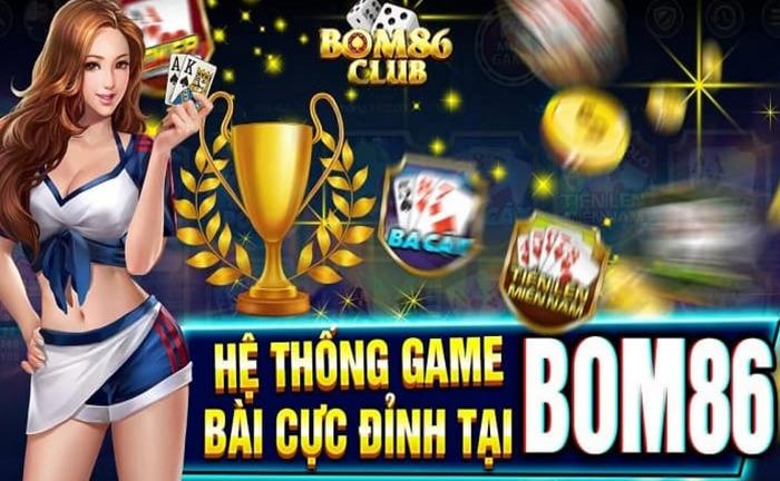 Tải Bom86 Club – Game đổi thưởng quốc tế hấp dẫn chơi là mê icon