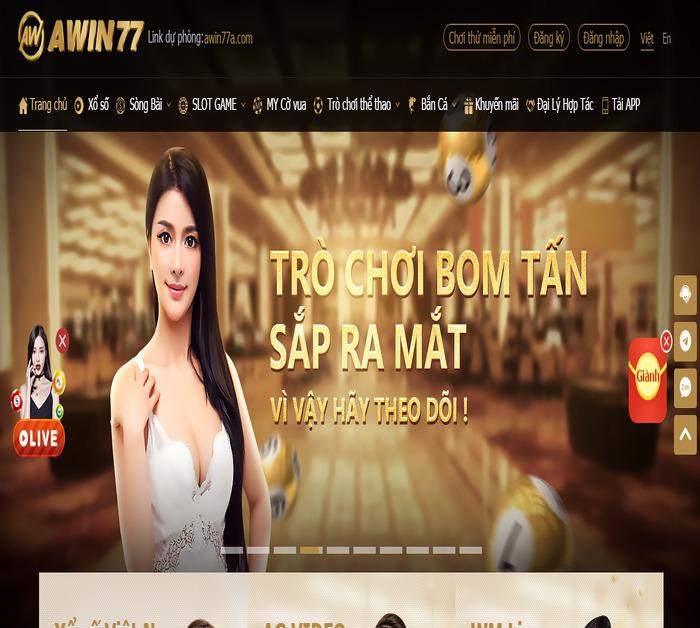 Tải Awin77 – Phiên bản slot đổi thưởng miễn phí mới nhất icon