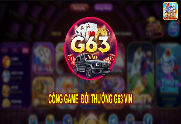 Tải G63 Vin – Cổng đổi thưởng huyền thoại thế hệ mới icon