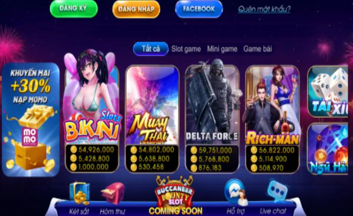 Hình ảnh game dinhvip club in Tải Dinhvip Club – Game slot đổi thưởng an toàn nhận quà khủng