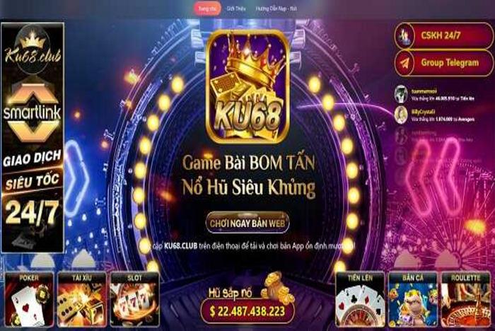 Tải Ku68 Club – Game đổi thưởng uy tín chất lượng số 1 icon